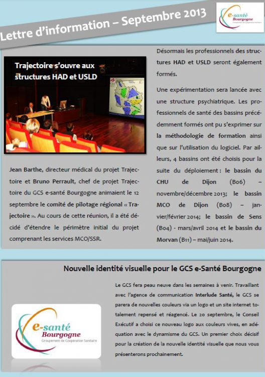Newsletter-septembre 2013